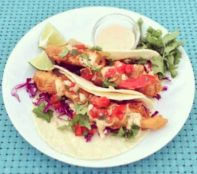 Unforgettable Fish Tacos