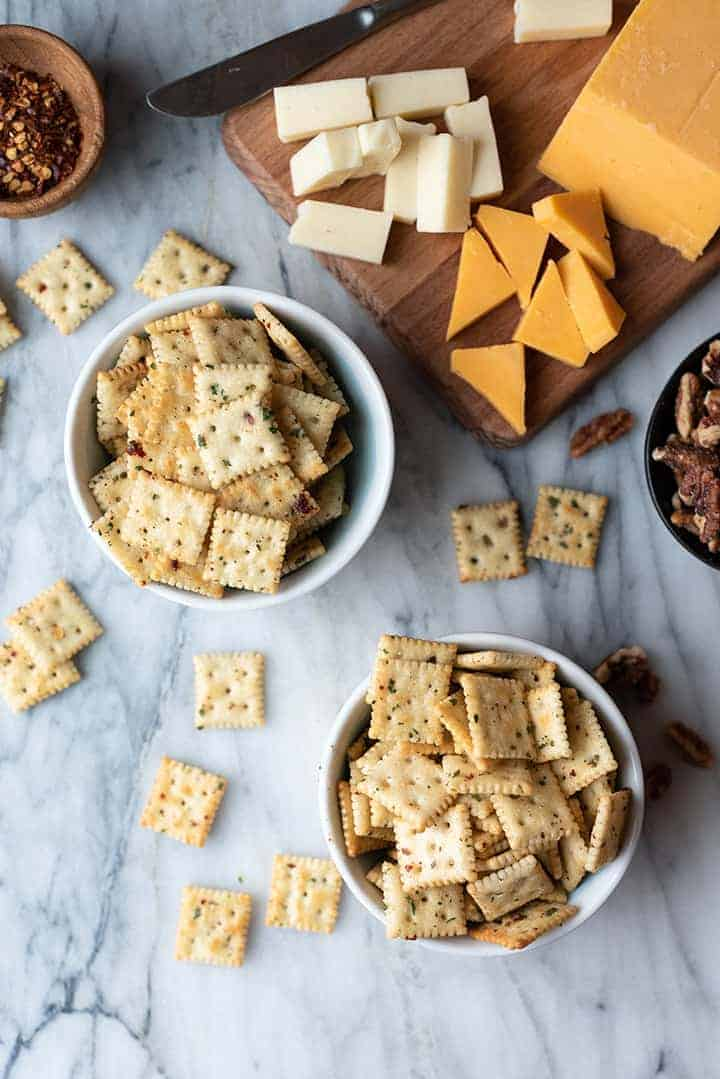zesty cool ranch crackers | superman cooks