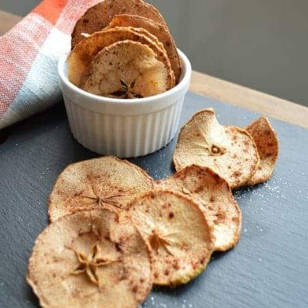 cinnamon sweet apple crisps