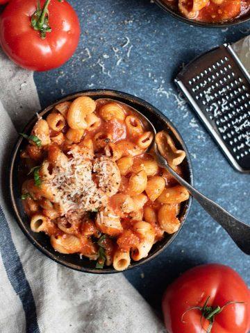 Grandma's Macaroni Soup | superman cooks