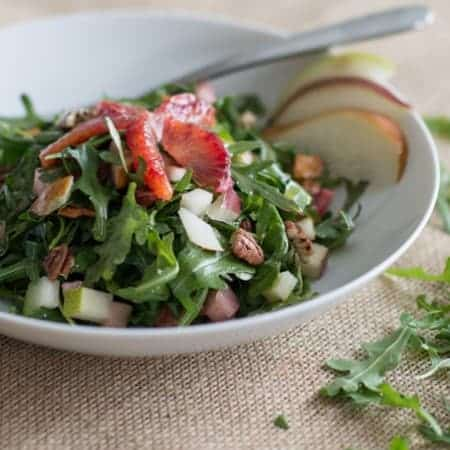 blood orange arugula salad