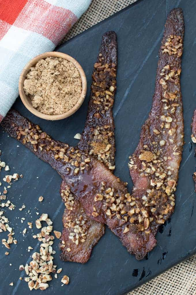 sweet cajun candied bacon