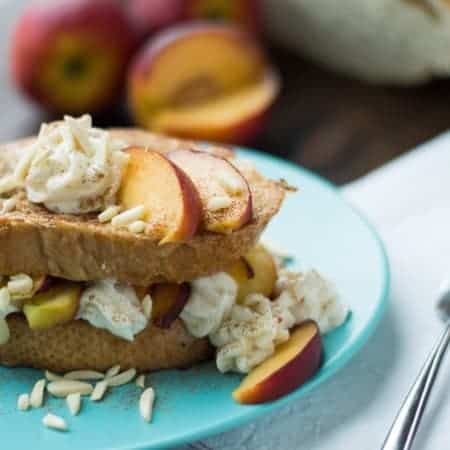 peaches & cream french toast