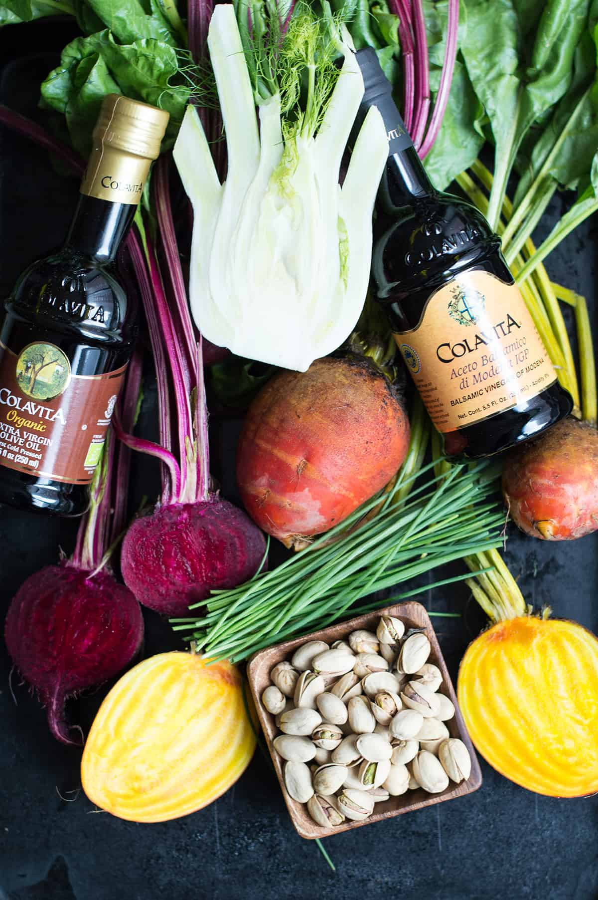 roasted fennel and beet salad ingredients