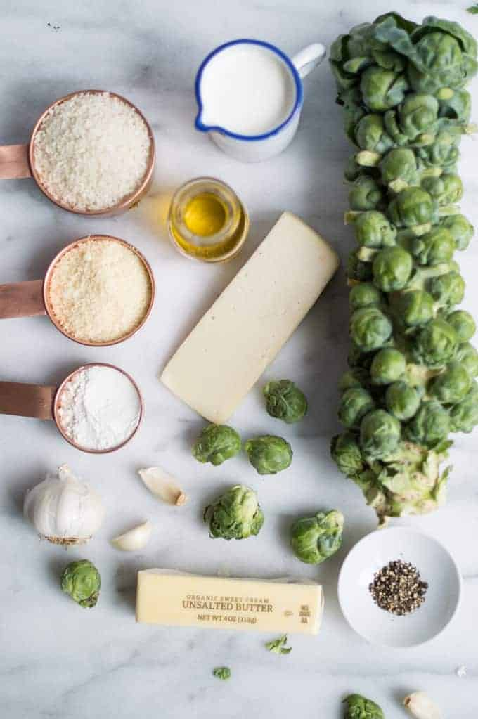 brussel sprout gratin | superman cooks