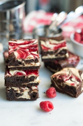 raspberry sweetheart swirl brownies| superman cookies