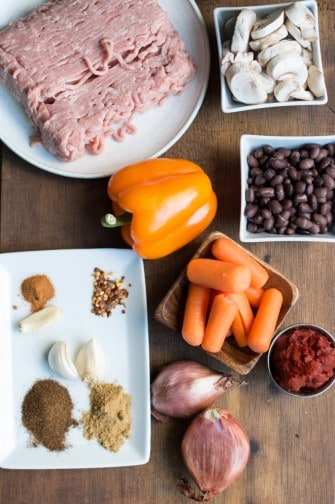 southwestern turkey chili | superman cooks