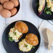 truffled egg salad   superman cooks