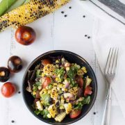 mexican street corn salad | superman cooks