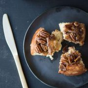apple pecan sticky buns | superman cooks