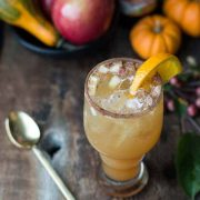 apple cider shandy | superman cooks