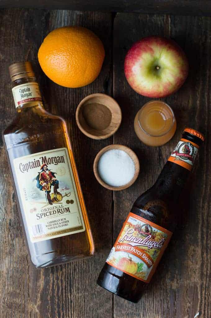 apple cider shandy | superman cooks