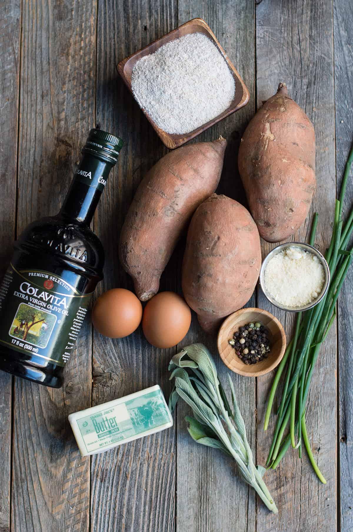 sweet potato gnocchi ingredients