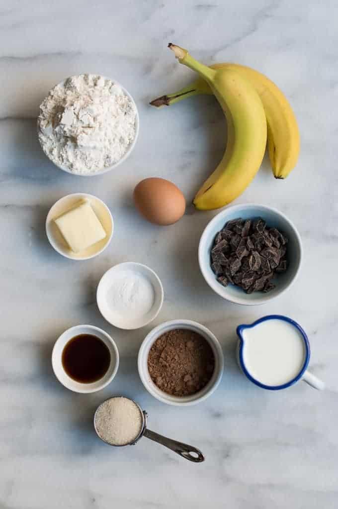 triple chocolate banana pancakes   superman cooks