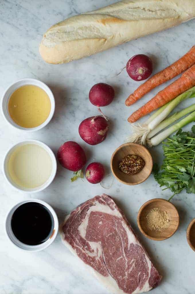 steak crostini | superman cooks