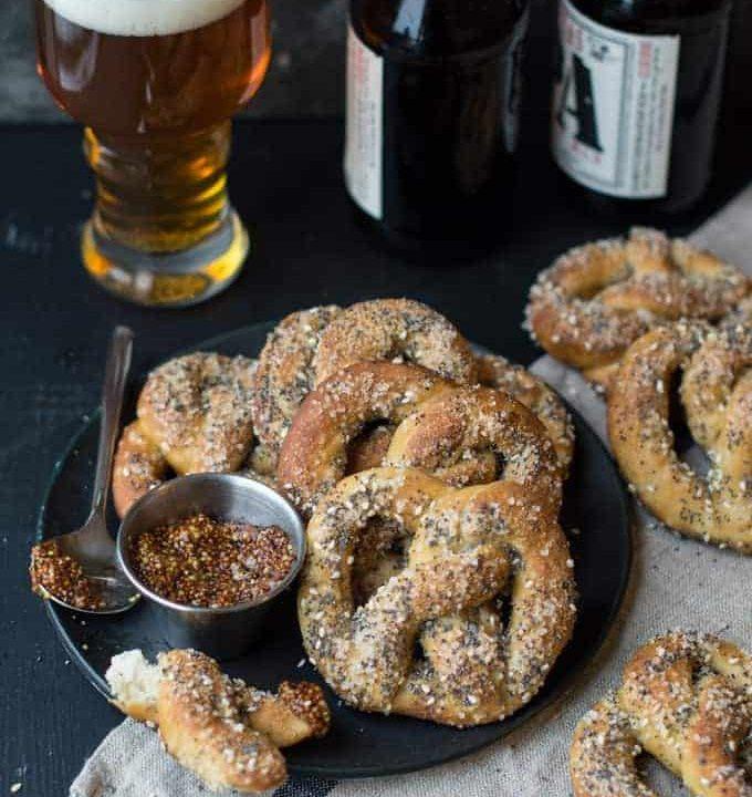 everything soft pretzels | superman cooks