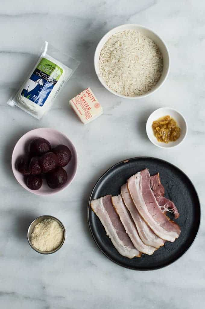 beet risotto | superman cooks