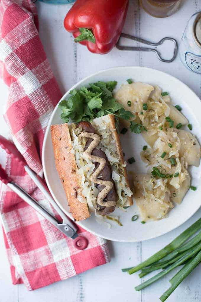 Pittsburgh style beer brats | superman cooks