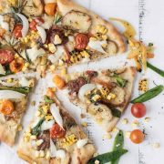 the ultimate veggie pizza | superman cooks