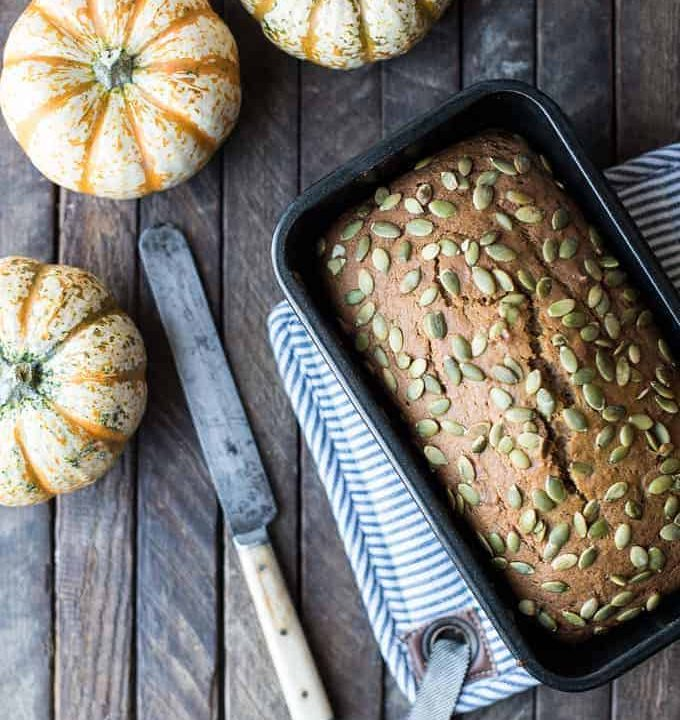 mimi's quick & easy pumpkin bread | superman cooks