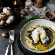 creamy polenta with mushroom ragout | superman cooks