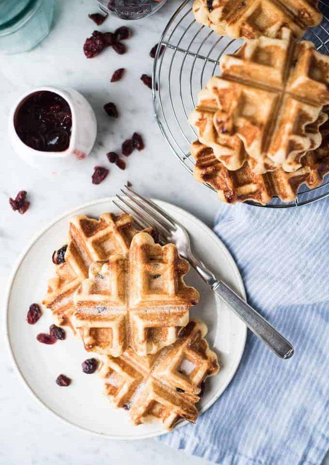 pearl sugar liège waffles | superman cooks