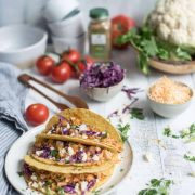 sautéed cauliflower tacos | superman cooks