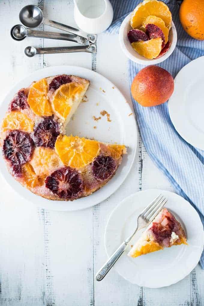 sweet & simple citrus cake | superman cooks