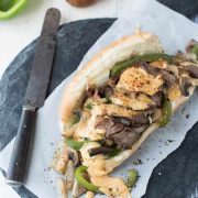 not your average philly cheese steak | superman cooks