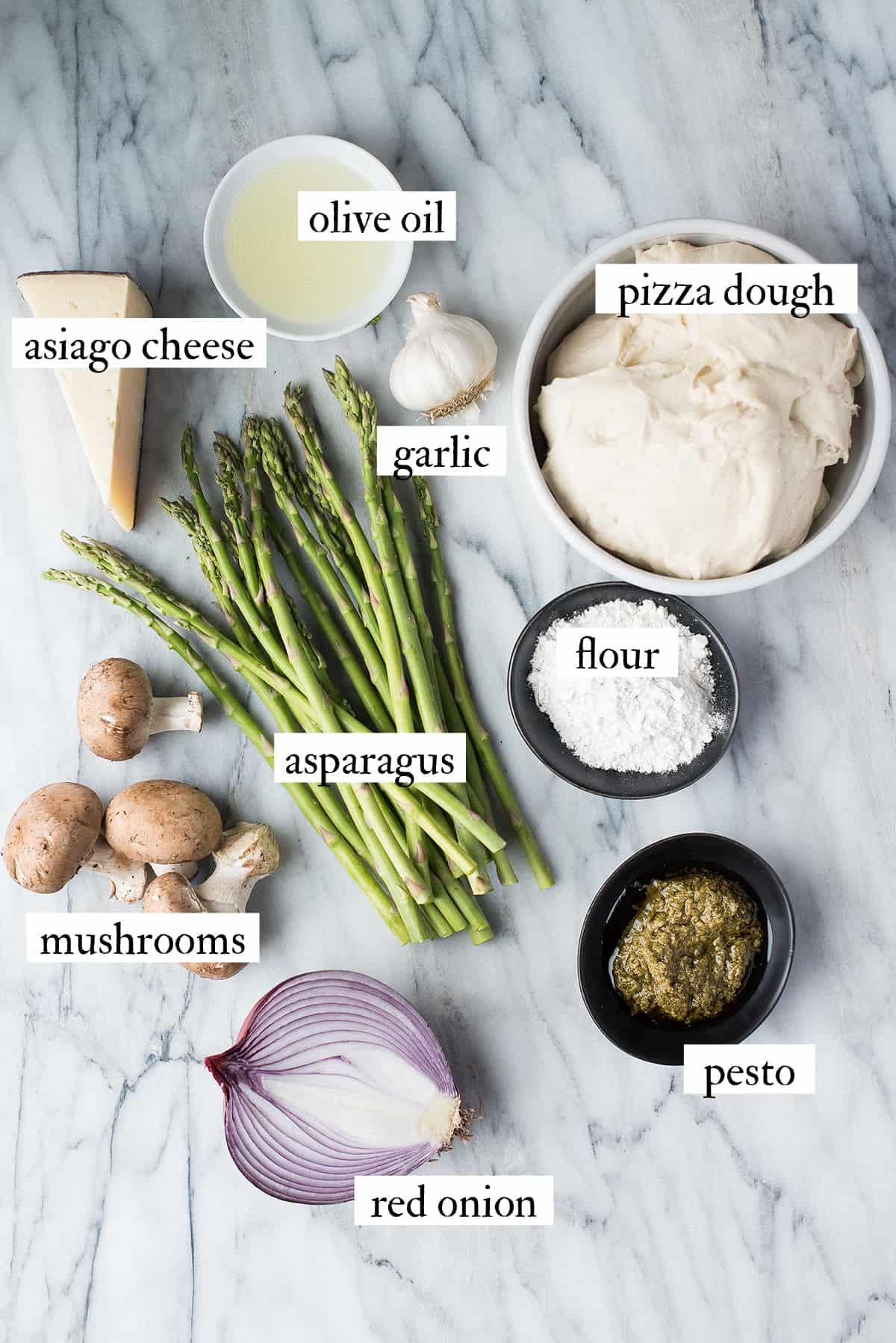 asparagus flatbread ingredients