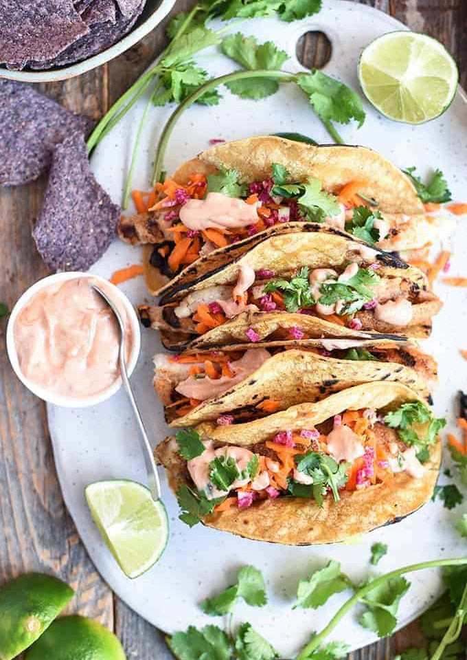 banh mi catfish tacos | superman cooks