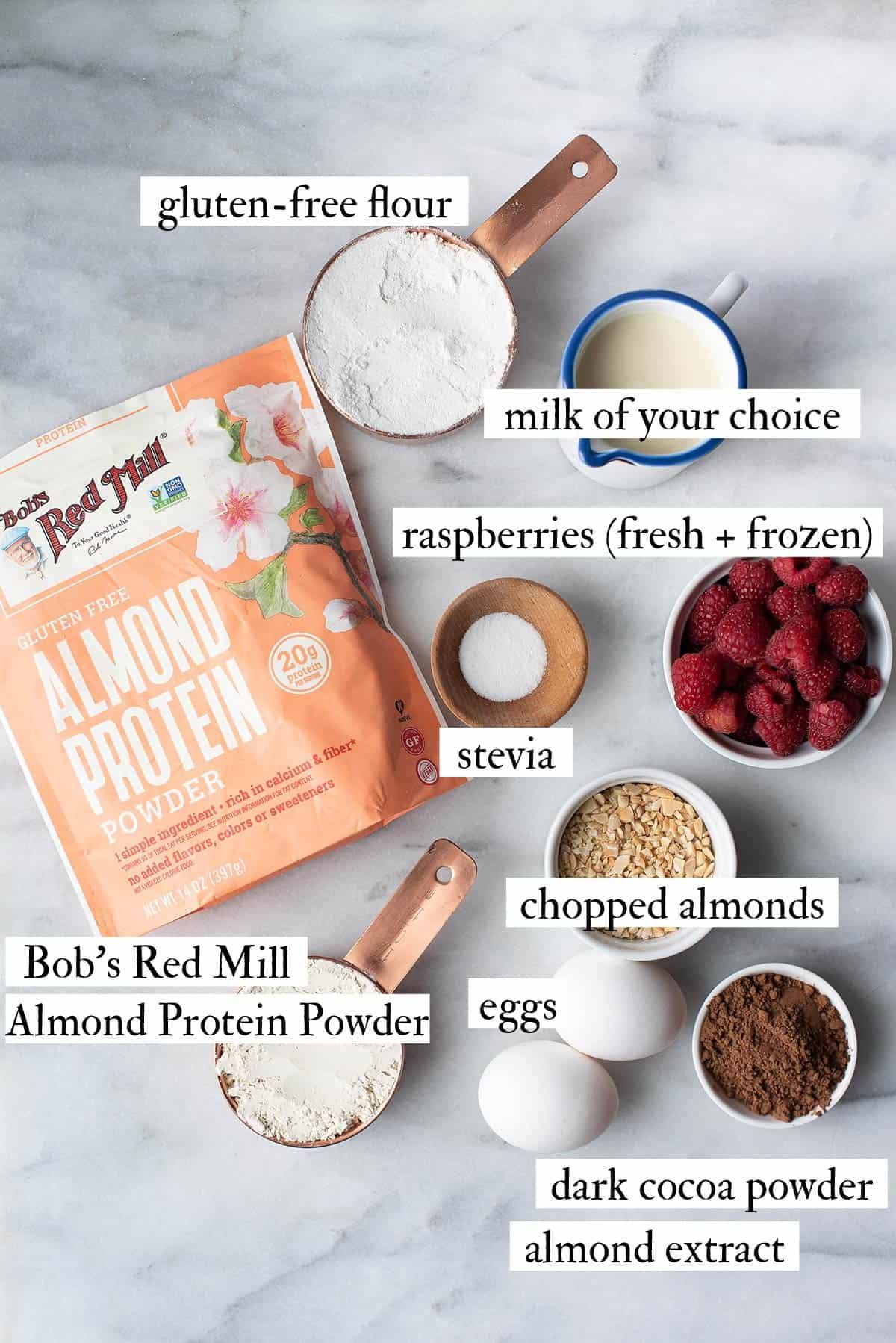 gluten free chocolate waffles ingredients