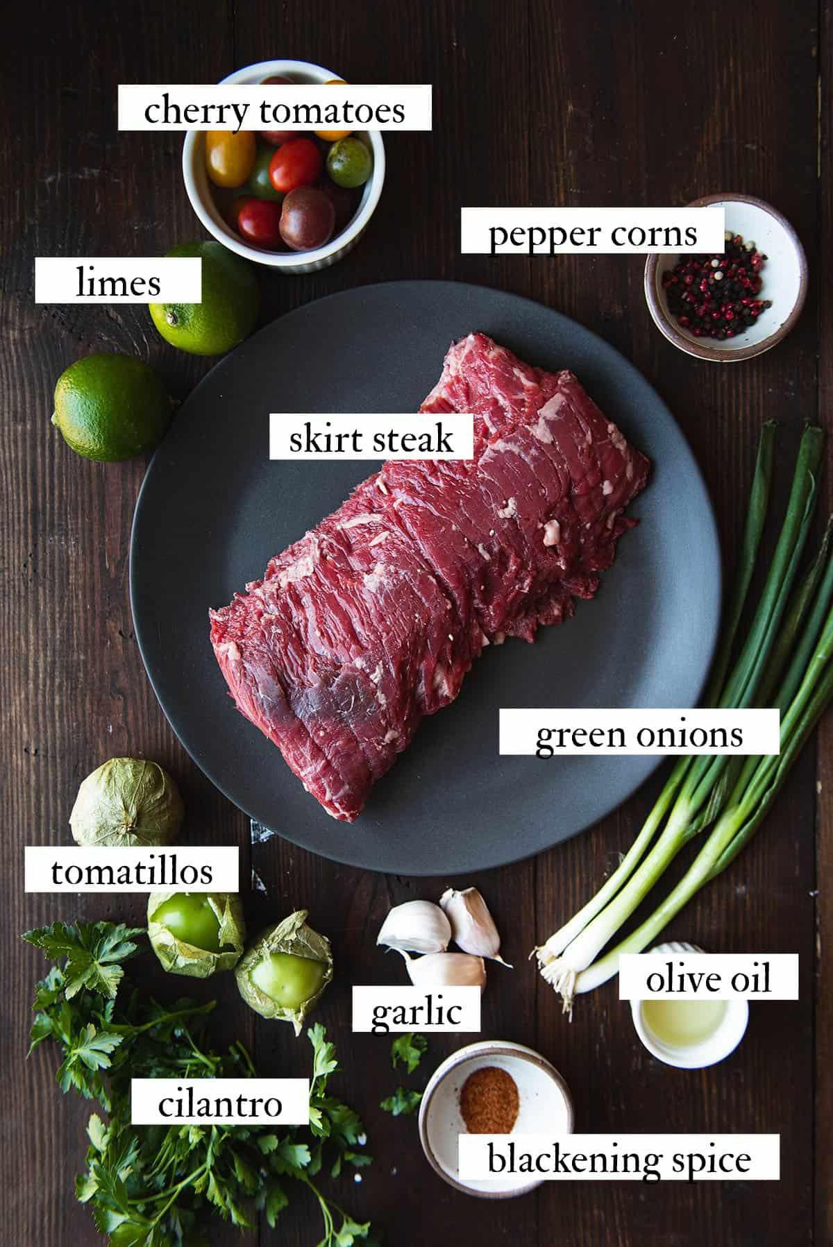 skirt steak ingredients